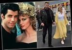 John Travolta and Olivia Newton-John replay iconic Grease ...