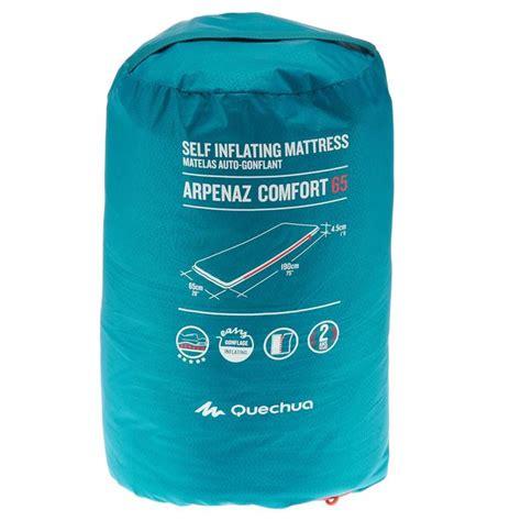 Matelas Quechua Autogonflant by Quechua Matelas Autogonflant De Cing Arpenaz Comfort 65
