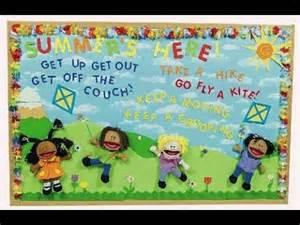 Summer Bulletin Board Idea