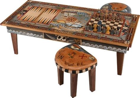 Coffee Tables Ideas Hardwood Materials Game Coffee Table