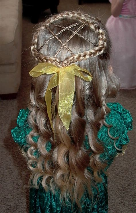 These buns will peek out from the bottom of your hat like little peeping bunnies. Shaunell's Hair: Little Girl's EASTER Hairstyle - Figure 8 French Braid 20-30 min