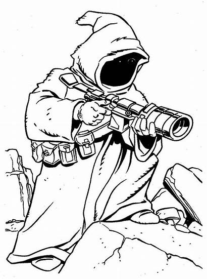 Coloring Star Wars Pages Starwars Adult Colouring