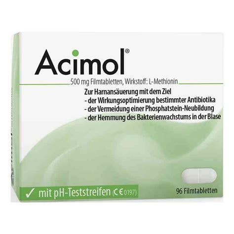 acimol mit ph teststreifen filmtabletten  stk