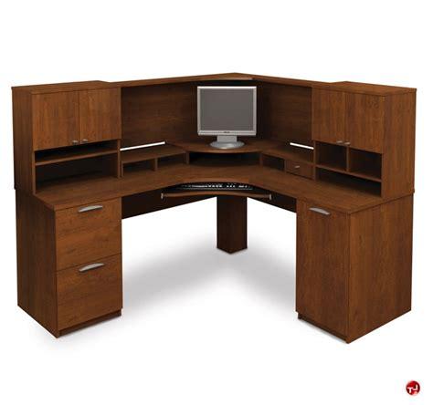 bestar hton corner computer desk top 28 bestar hton wood home office bestar hton