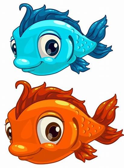 Fish Clipart Cartoon Printable Emoji Pisces Clip