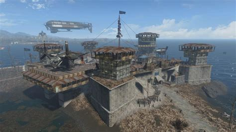 Incredible Settlements Created By 'fallout 4' Players