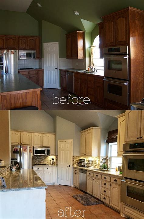 antique white glazed kitchen cabinets when you start a kitchen renovation with a six month