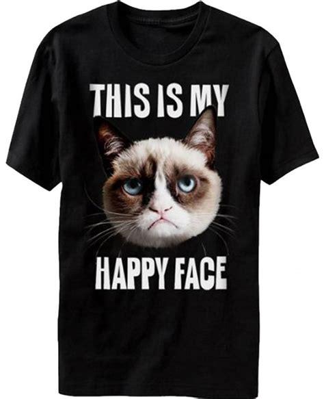 this is my happy grumpy cat t shirt