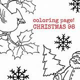 Christmas Coloring Collage Sprinkler Sheet Sheets Template sketch template