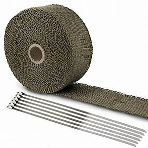 Isolant Thermique Automobile : lihao 50mm ruban isolant thermique c ramique 10m colliers pour tuyeau manifold 123autos ~ Medecine-chirurgie-esthetiques.com Avis de Voitures