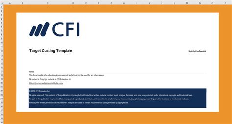 excel template archives page    cfi marketplace