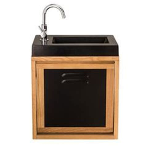 meuble lave mains sensea mano avec miroir leroy merlin