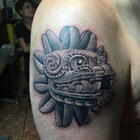 arte prehispanico en la piel los bellos tatuajes de sol