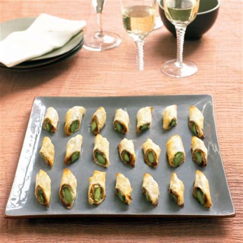 berry s asparagus filo rolls recipe canape recipes