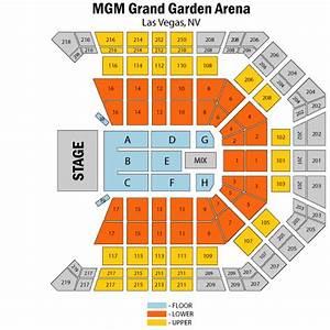 Rush june 24 tickets las vegas mgm grand garden arena for Mgm grand garden arena seating
