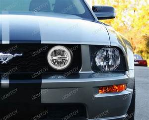 Ford Mustang Gt Led Halo Ring Daytime Running Lights Led