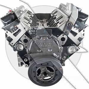 5 7l 350ci Gm Vortec Long Block V8 8blt Intake Manifold 5 7 350 Engine Marine