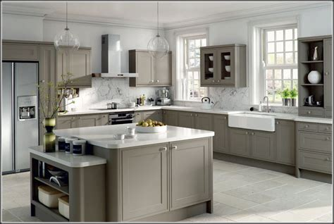 Gray Kitchen Cabinets Wall Color Ideas
