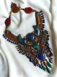 Jewelry Bead Embroidery Necklace Patterns