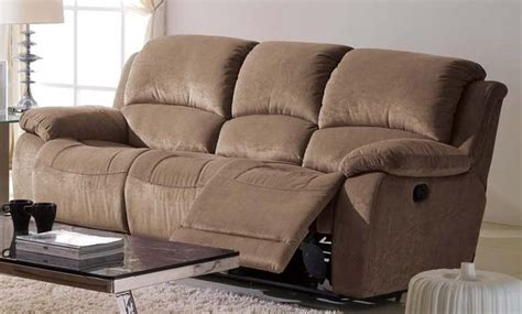 microfiber reclining sofa ladonna microfiber reclining sofa modern sofas los angeles by iris furniture