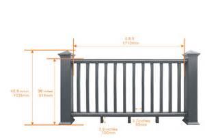 deck railing composite outdoor deck rails newtechwood