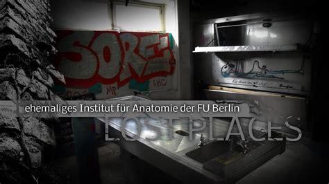 Institut Fuer Bauforschung by Lost Places Ehemaliges Institut F 252 R Anatomie Der Fu
