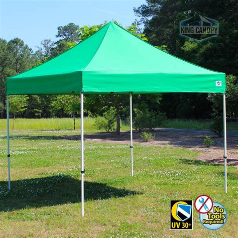 king canopy festival  instant pop  tent  green cover ebay