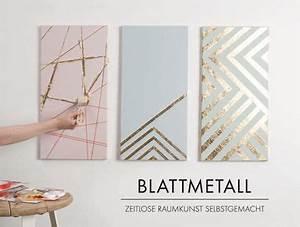 Bilderrahmen Für Keilrahmen Selber Machen : diy keilrahmen mit edlem blattmetall leinwand selber ~ A.2002-acura-tl-radio.info Haus und Dekorationen