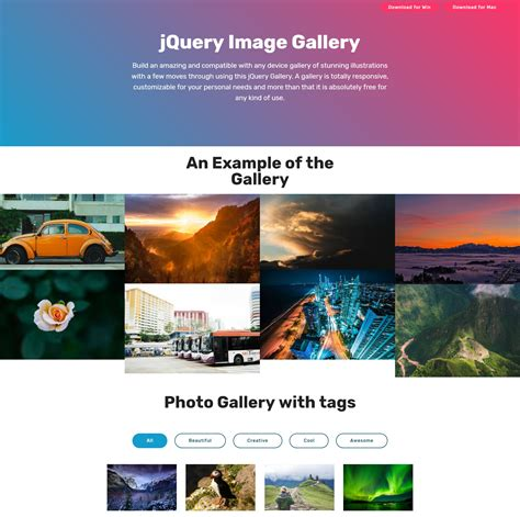 Bootstrap Gallery 27 Stunning Html Bootstrap Image Slideshow And Gallery