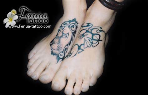 lion  tiki tatouage polynesien tatoouages fenua