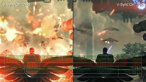 Saints Row 4 Xbox 360 V Sync On Vs V Sync Off Frame Rate