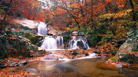 waterfall autumn nature 5k 4k wallpapers hd travel horizontal 8k fhd 2k water wallpapershome sky resolution
