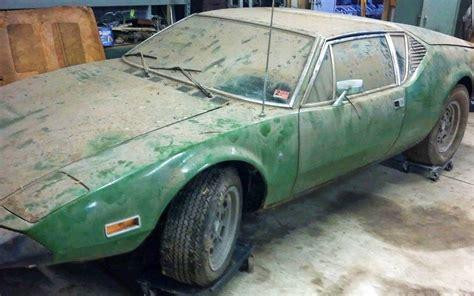 Dusty 1973 De Tomaso Pantera!