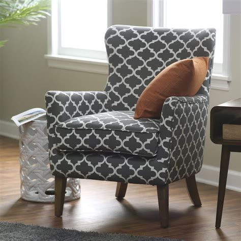 awesome patterned accent chairs with arms chairs