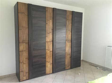 armadi offerta armadio 6 ante legno wenghe crash bambu offerta outlet