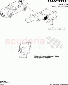 Aston Martin Rapide Barometric Sensor Parts