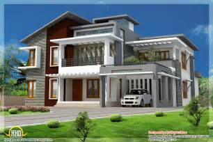 modern house blueprints superb home design contemporary modern style kerala