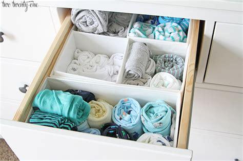 how to organize baby dresser nursery dresser organization