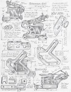 33 Tattoo Machine Parts Diagram