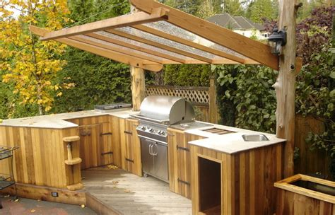 lean  patio covered wood cover building  outdoor build