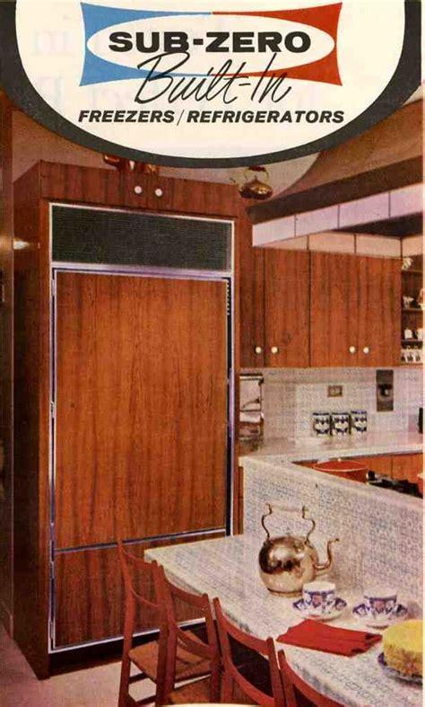 #1 choice for a retro refrigerator: Sub Zero   Retro