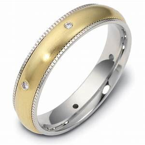 47668e 18k diamond milgrain edge wedding ring With milgrain edge wedding ring