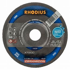 Disque A Tronconner : disque tron onner acier xt200 rhodius 210227 ~ Dallasstarsshop.com Idées de Décoration