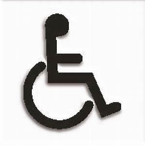 Wheelchair Tactile Symbol