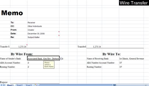 wire transfer excel template wire transfer forms