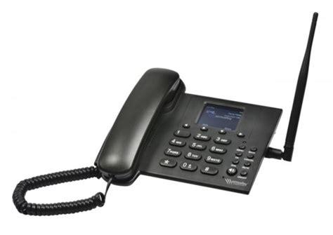 telephone de bureau téléphone fixe filaire avec fonction 3g hotspot et gsm