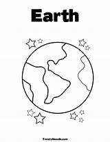 Earth Coloring Pages Planet Preschool Drawing Globe Planets Printable Sheets Stars Space Preschoolers Saturn Clipart Template Colouring Templates Kindergarten Getdrawings sketch template
