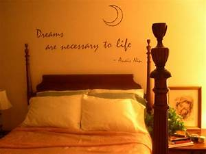 Bedroom wall decor - Wall letters, words and quotes by