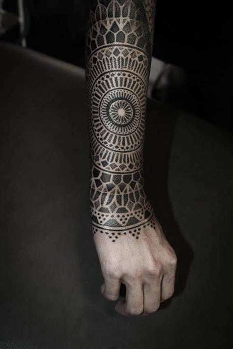 mandala tattoos  men ideas  designs  guys