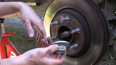 front brake  rotor replacement part  youtube